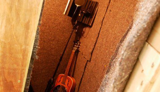 防音室のドア回りを改造しました