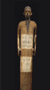 This wooden sculpture from the Democratic Republic of Congo sold for €2,697,000($3,493,050) on December 11, 2012