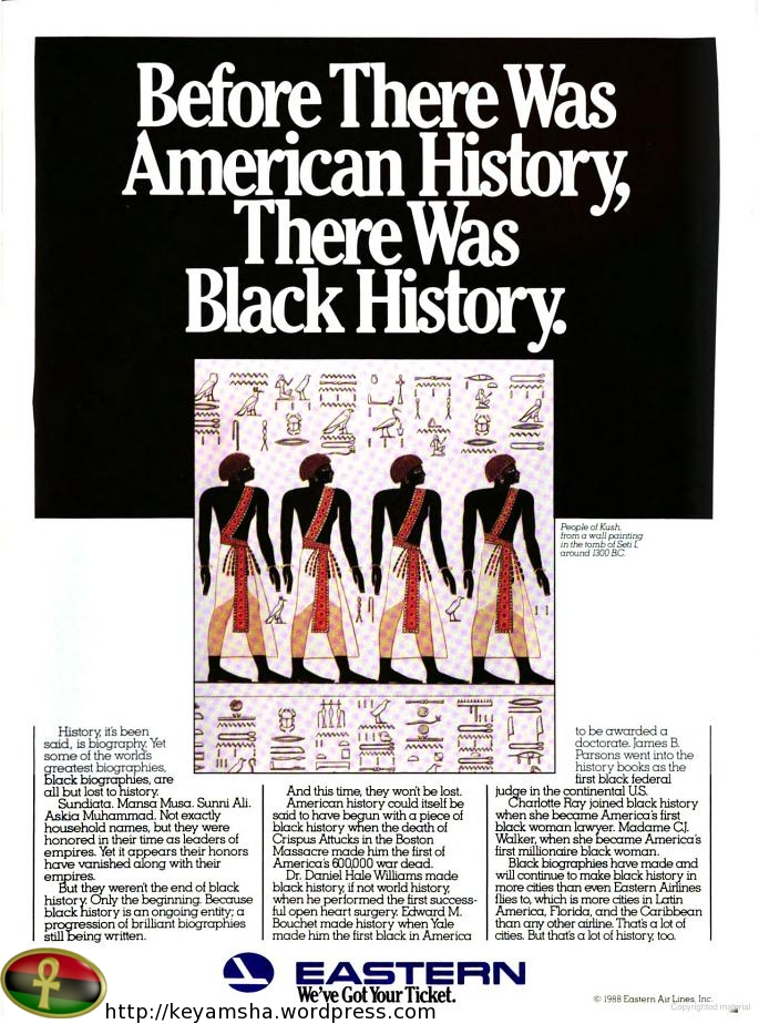 Before there was American History there Was African History
