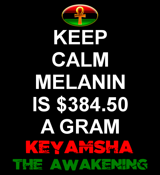 melanin is $384.50 a gram