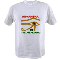 Keyamsha The Awakening T-shirt $22.99 http://www.cafepress.com/keyamsha