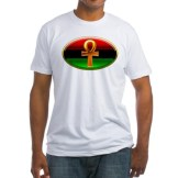 The Shield of Audacious Power is a Red, Black and Green symbol of the power of the Human Spirit. $22.99 //www.cafepress.com/keyamsha