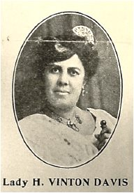 Photo of UNIA International Organizer Henrietta Vinton Davis from the Negro World