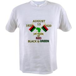 Get your 100 years of Red, Black and Green T-shirt $22.99 //www.cafepress.com/keyamsha