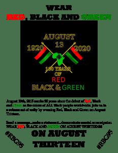 RBG95 flyer w Black BG