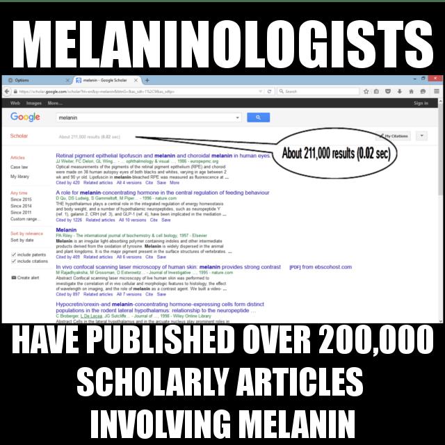 MELANINOLOGISTS