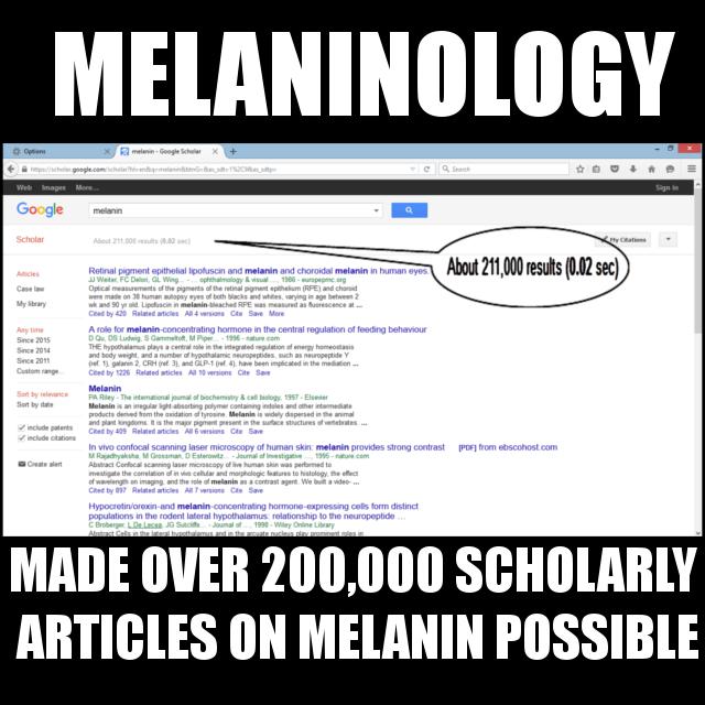 MELANINOLOGY