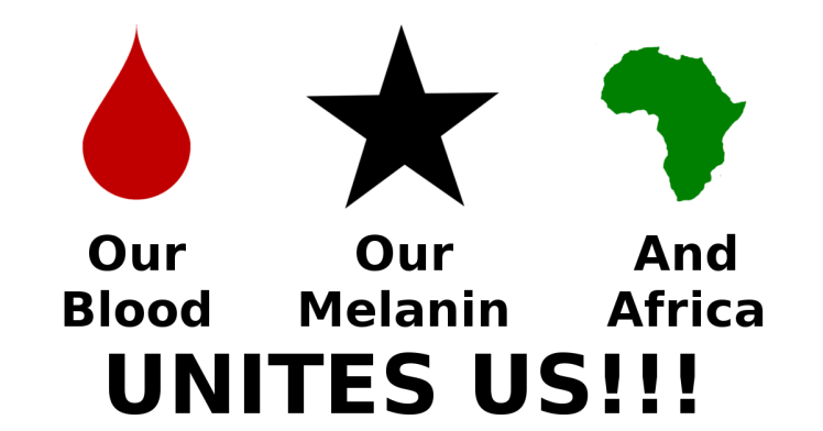 Our blood Our melanin and Africa unites us!!!