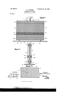 E.R. Greene's Electric Fly Trap