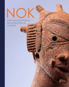 Nok Terra cotta from Nigeria on the cover of the book Nok African sculpture in Archaeological Context