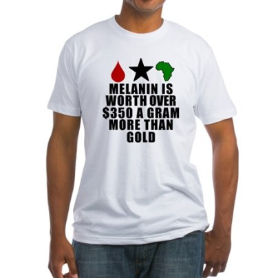 Imagine you have the power to alter the thinking of the entire human race...Because, You Do!!! This conversation piece is invoking a shift in awareness, perception and power worldwide. Get yourmelanin value t-shirt now for only $22.99 at http://www.cafepress.com/keyamsha