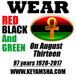 Take the #RBGChallenge by Wearing Red, Black and Green on August 13: 52 Days to #RBG97