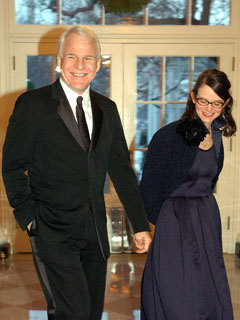 Steve Martin surprises guests with wedding CelebsNow