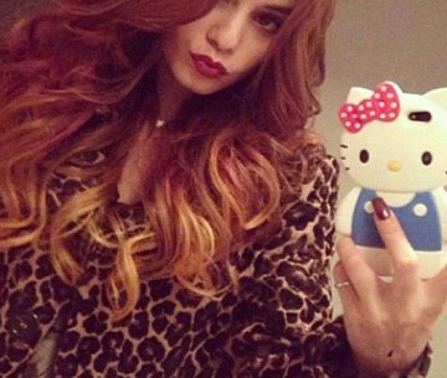 Vanessa Hudgens Posts Sexy Selfies Of Her Hot New Autumn Dip Dye Hair Look On Twitter