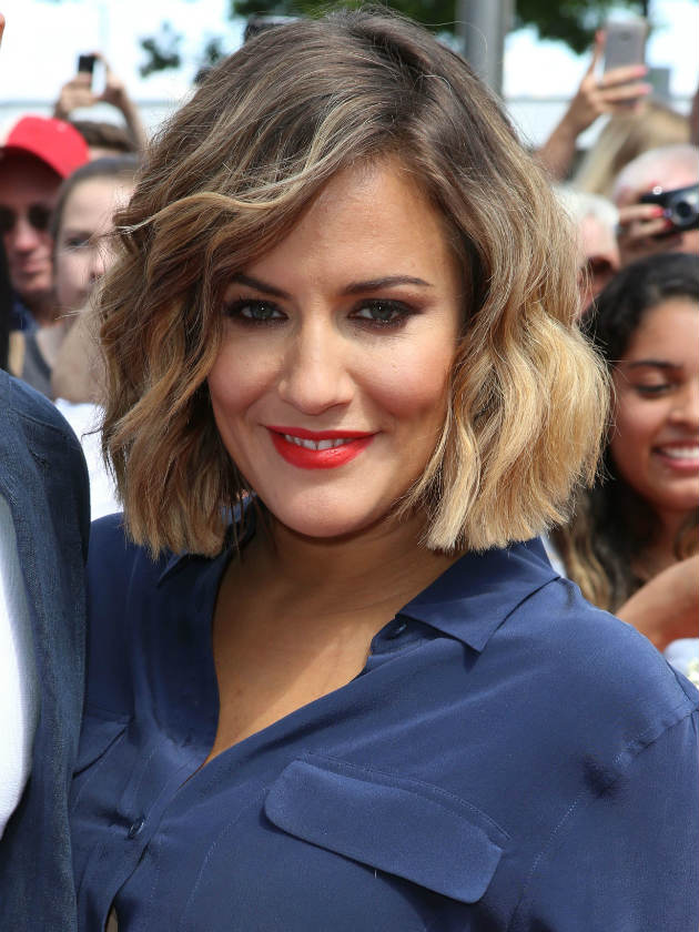 CUTE Hear X Factor Presenter Caroline Flack Sing In