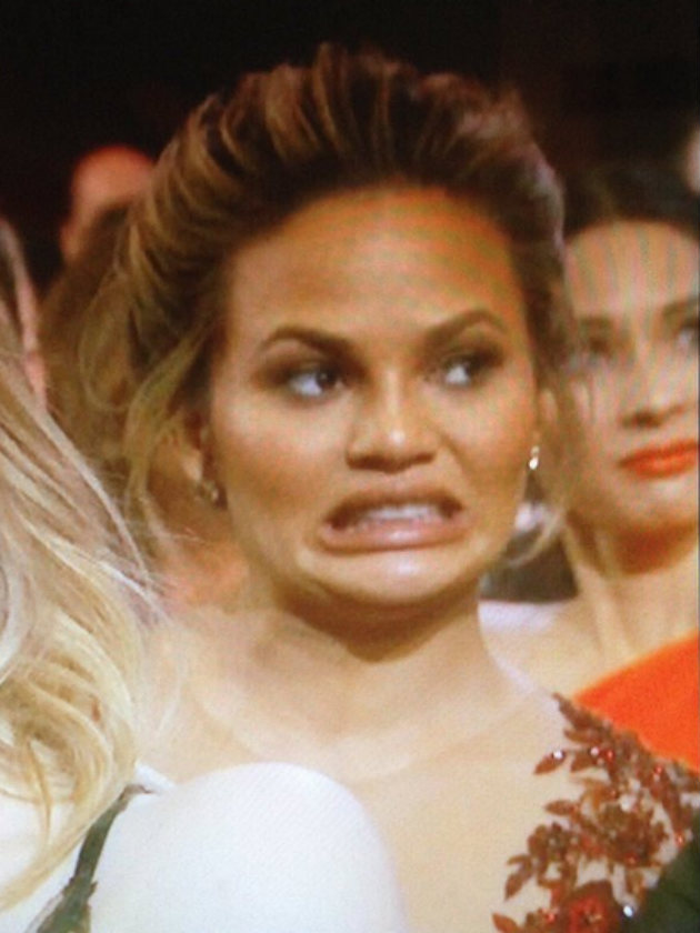 Most Awkward Oscars Moment EVER Chrissy Teigen Explains