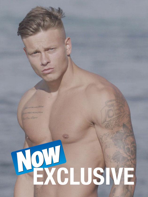 Vicky Pattisons Model Ex Alex Bowen Heads To Love Island