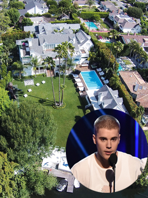 Inside Justin Biebers 50000 a month party pad