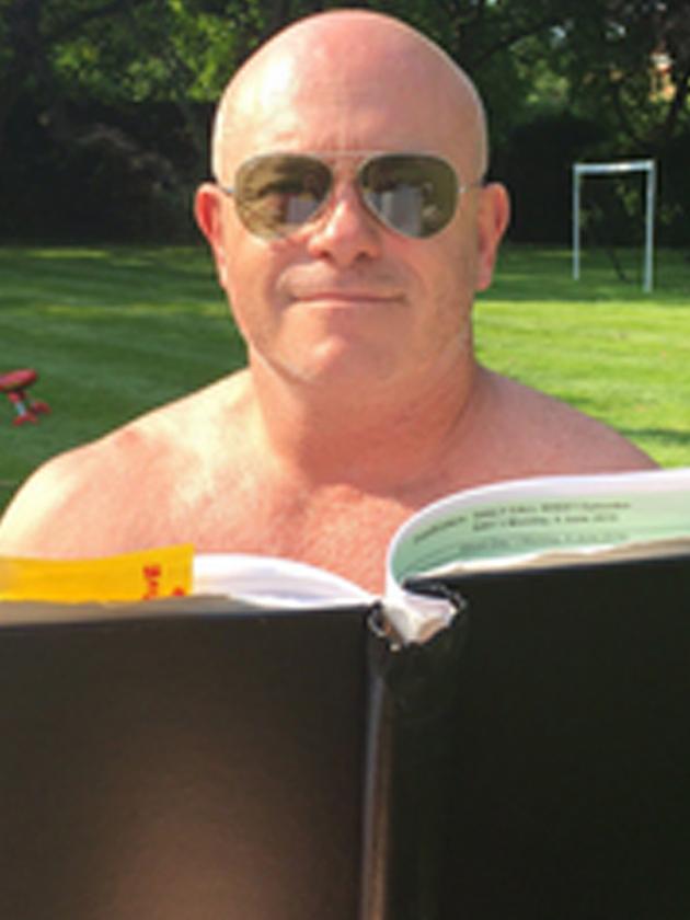 Ross Kemp Teases Eastenders Return With Topless Selfie