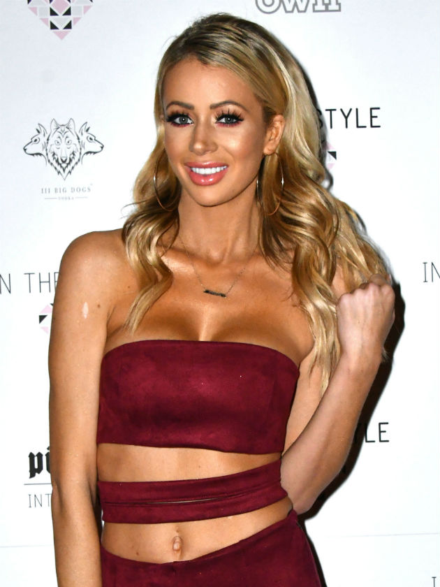Awks Olivia Attwoods fans baffled as they spot mystery