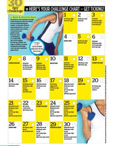 day challenge to banish bingo wings also woman magazine rh womanmagazine