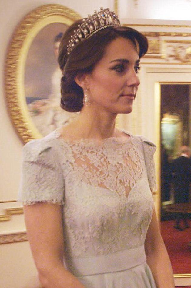 The story behind Kates stunning Cambridge Lovers Knot tiara