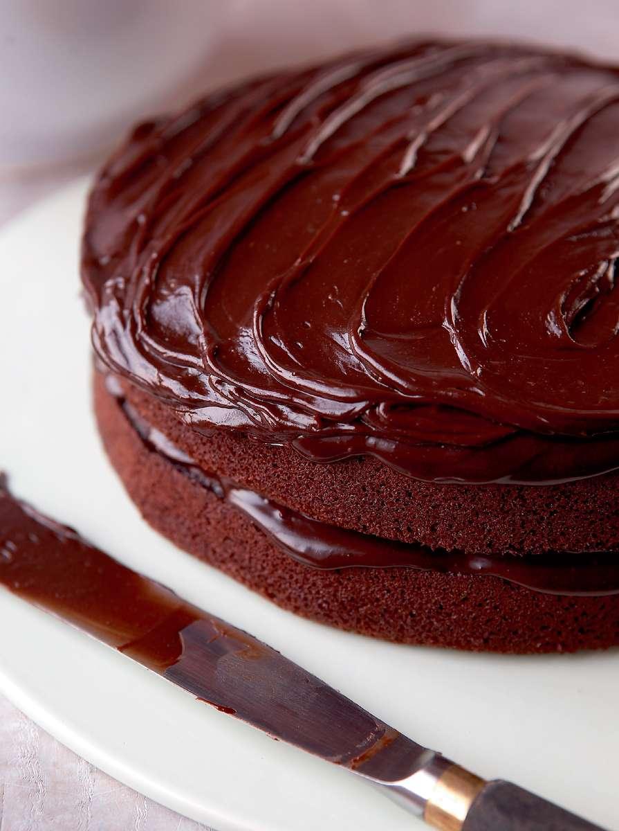 Mary Berrys Very Best Chocolate Fudge Cake  Quick  easy