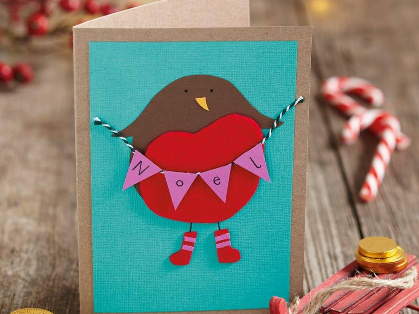 How To Make Christmas Animal Cards