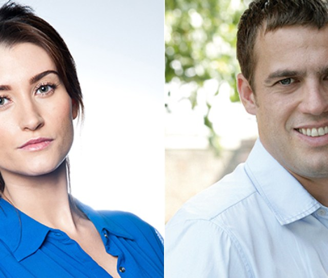 Charley Webb From Emmerdale And Jamie Lomas From Hollyoaks Brother And Sister