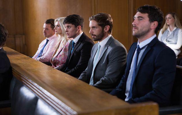 Hollyoaks, Ollie Morgan, Brody Hudson, Damon Kinsella