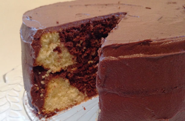 Dark And White Chocolate Marble Cake Recipe Goodtoknow