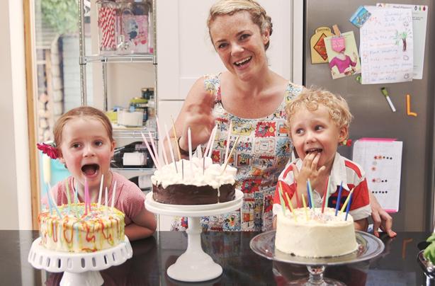 Easy Childrens Birthday Cakes
