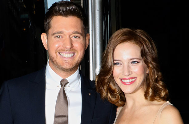 michael bublé and wife