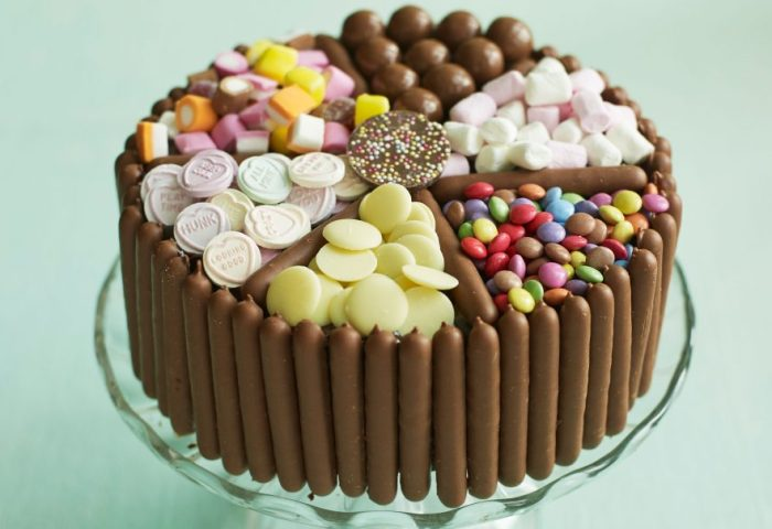 Pick Mix Chocolate And Sweet Cake Dessert Recipes Goodtoknow