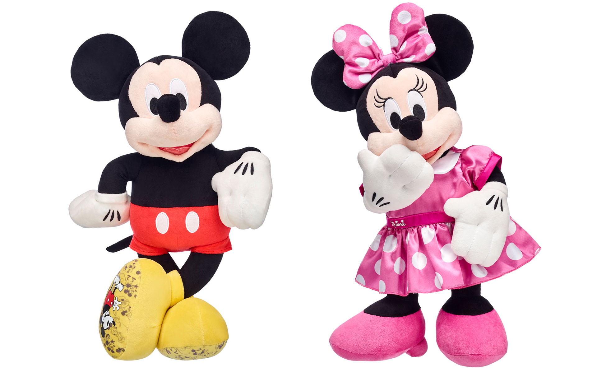 Build A Bear Is Selling Mickey Mouse Toys With A 40 Per