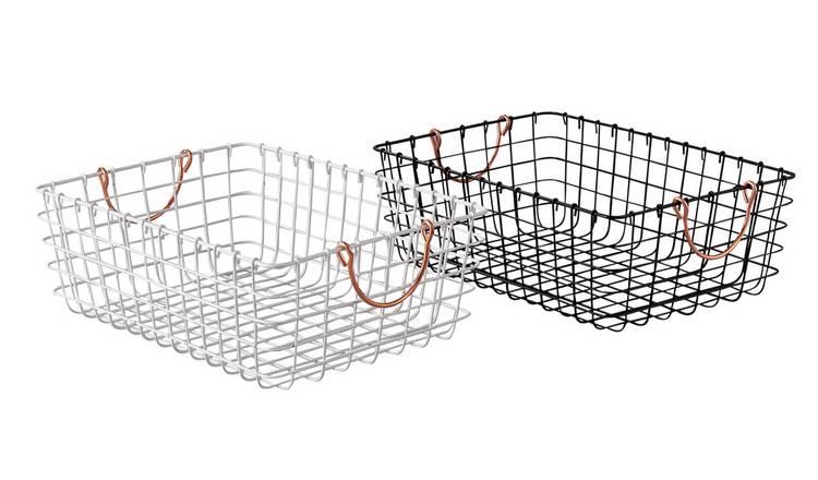 This genius hack turns £6 Argos baskets into handy shelves