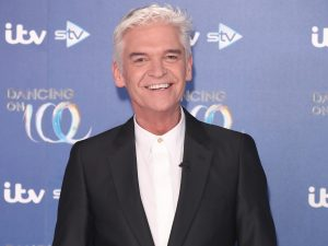 Phillip Schofield attends the Dancing On Ice 2019 photocall at the Dancing On Ice Studio,
