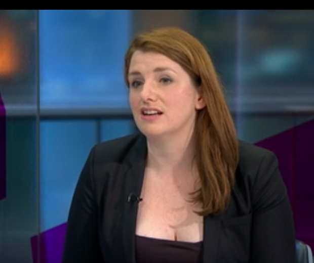 Alison McGovern Told To Cover Up Her Cleavage On TV  Look