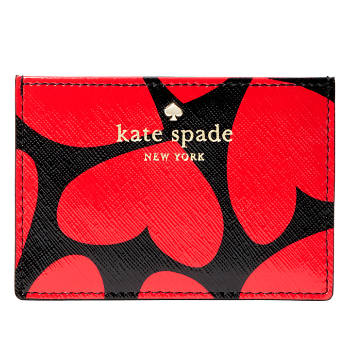 Kate Spade Be Mine Leather Card Holder, £45