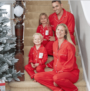 Not on the high street Christmas pyjamas