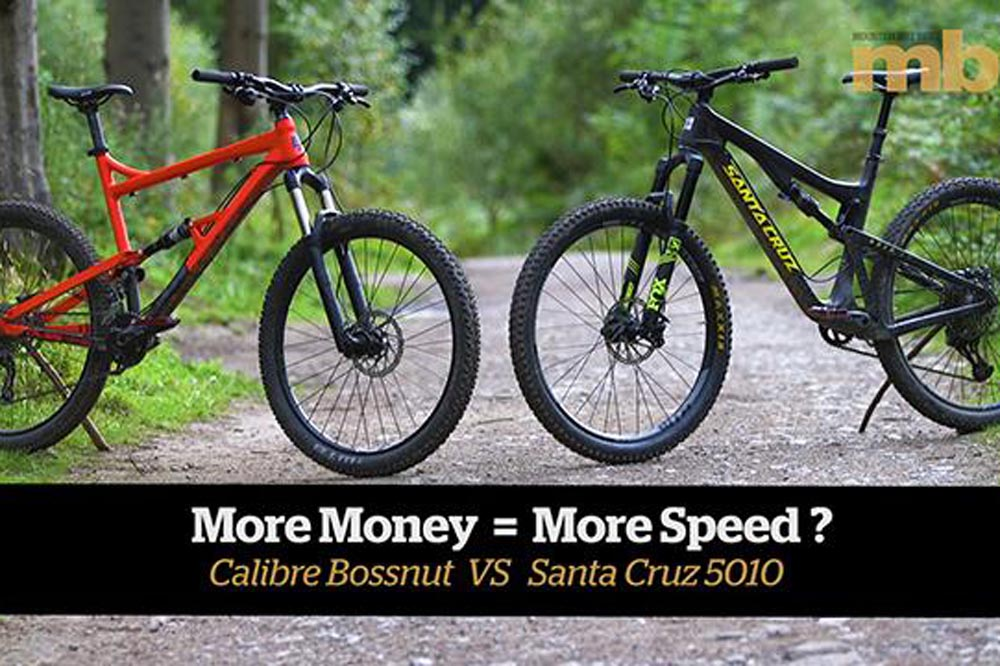 How much faster is an expensive bike? - MBR