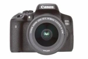 Canon EOS 750D product shot 12