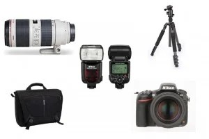 Wedding photography kit list