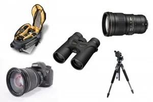 Wildlife photography kit list