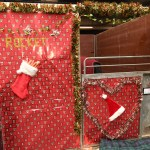 Which Native Pony Had The Best Christmas Decorated Stable At Olympia Horse Hound