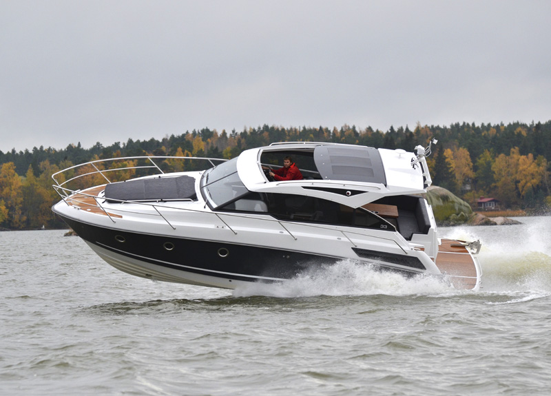 Grandezza 33 OC Video Motor Boat Amp Yachting