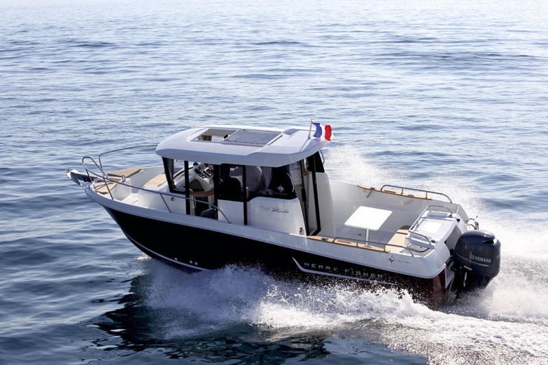 Jeanneau Merry Fisher 755 Marlin Video And Photos Motor Boat Amp Yachting