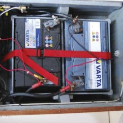 3 Way Switch Diagram Multiple Lights 1972 Chevelle Wiring Charging Two Battery Banks - Practical Boat Owner