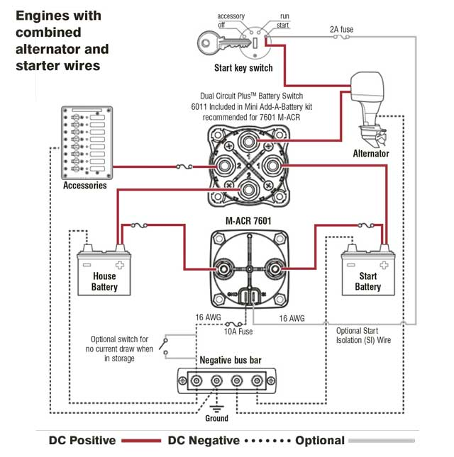 blue sea dual battery boat wiring diagram  wiring harness