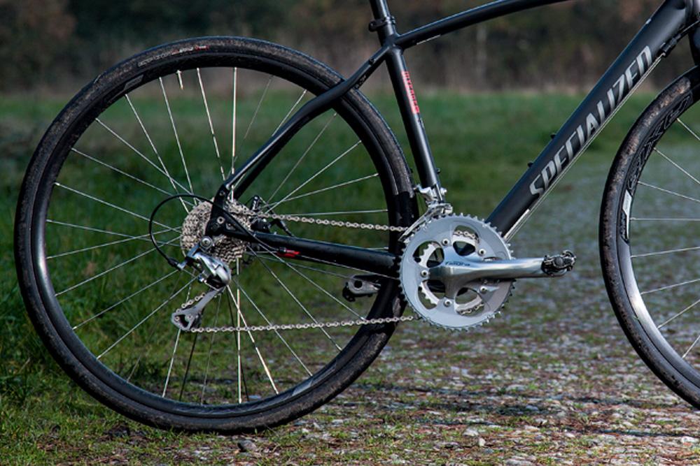 Diverge Elite A1 rear wheel